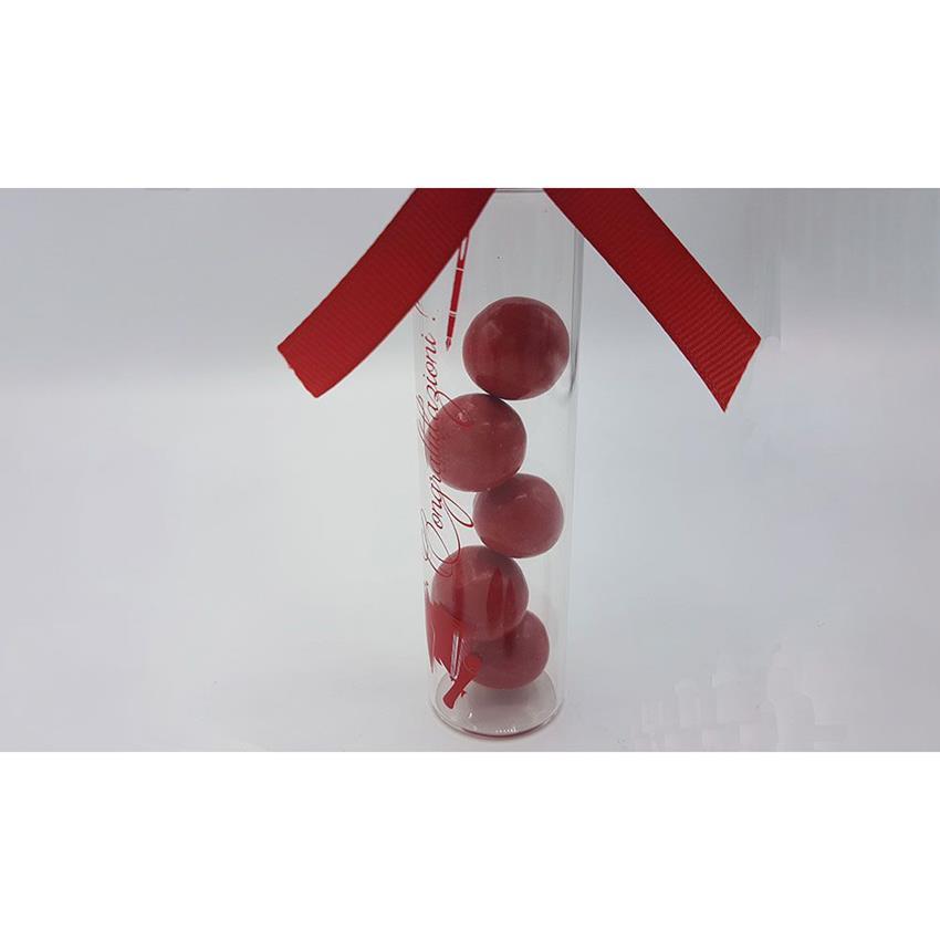 Favorito Bomboniera laurea provetta in vetro con tappo a vite - Confetteria  EK71