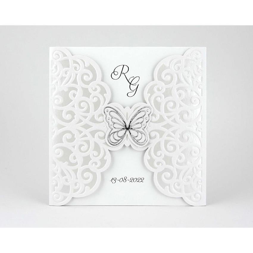 Partecipazioni Matrimonio Farfalle.Alessia Partecipazioni Confetteria Bon Bon Bomboniere E