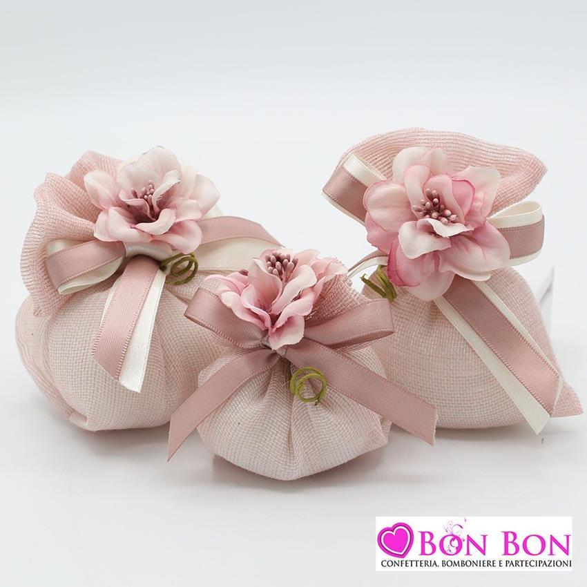 Sacchetti - Matrimonio - Confetteria Bon Bon - Bomboniere e